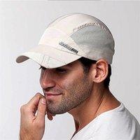 sport hat visor - Fashion Mens Baseball Hat Summer Outdoor Sport Hat Running Visor Cap Adjustable Snapback Hats Cap Fast Shipping