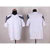 blank football jerseys - Cheap Blank White Elite Football Uniforms New Style American Football Jerseys Super Bowl XLIX Men Player Football Shirts for Sale