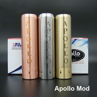 Wholesale Apollo Mech Mod USA e Cigarette Mods AV Apollo Machanical Mods Mahattan V2 Mod New Version USA Apollo Mods for RDA Vaporizer