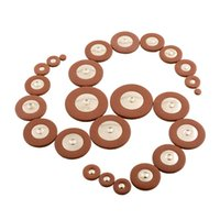 Wholesale Hot Soft Professional Tenor Saxophone PU Leather Pads Coffe Comfortable Replacement high quality
