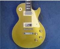 Wholesale New Beautiful hot sell Deluxe Gold Top electric guitar in stock