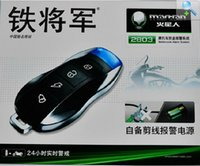 Wholesale MOTO Steel Mate Martian Motorcycle Alarm anti cut line Crystal Light remote alarm with start flameout One way