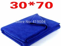 Wholesale DHL Fedex x70CM Microfiber Car Cleaning Towel Microfibre Polishing Scrubing Waxing Cloth Hand Towel