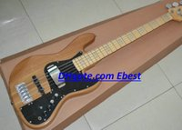 jazz bass - new style strings JAZZ Bass guitars natural maple JAZZ Bass guitars China guitars