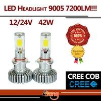 acura mdx - 2x HB3 H10 CREE COB V W Set LM Set White Car Auto Fog Headlight Kit W FANS Fast Cooling