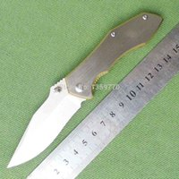 Wholesale Sanrenmu SRM LUC SCR Pocket EDC Camping Survival Tactical Knife Folding Knife Blade Tanto Blade