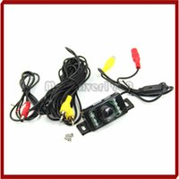 Wholesale Promotion E350 Color IR CMOS CCD Reverse Backup Car Rear View LED Camera New Waterproof