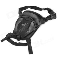 Wholesale Outdoor Cycling Motorcycle Water Resistant Waist Leg Bag Black