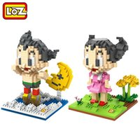 astro boy movie - LOZ Diamond Building Blocks Astro Boy Tetsuwan Atom Astroboy Action Figure Toy Children Educational DIY Toy
