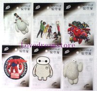 Wholesale New Hot sale Big Hero popular the Small iron on Patches iron on Transfers birthday gift