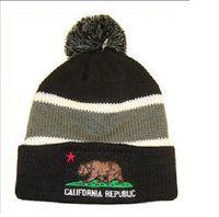 Wholesale California Beanies - Many New Winter Beanies California Beanie Wool Knitting Outdoor Skiing Beanie Caps Sport Baseball Beanies Hats Cap Mixed Order High Quality