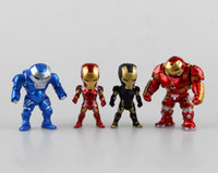 Wholesale Attack Iron Man Light Action Function set Iron Action Figures Toys