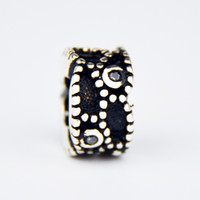 bead silver sterling supply - Pandora Charm Beads Sterling Silver Thailand Jewelry Loose Beads Murano Jewelry for Pandora Hand Making Supplies DIY Beads PDL047