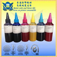 Wholesale Free fedex shipping Sublimation Ink For Epson Universal Color x100ML bottle refill sublimation Ink for Epson printer ciss