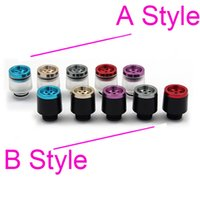 bear filters - 7 holes filter Wide Bore Drip Tip Heat insulation with Aluminium Acrylic Dripper Tips filtering vapor Mods RBA RDA Atomizers Mouthpiece