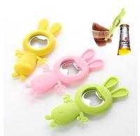 big bottle opener - Creative Super Meng Cartoon Opener beer bottle opener rabbit super soft bunny big mouth
