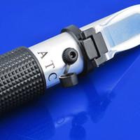 aquarium hydrometer - Aluminum Salinity Salt Refractometer for Fish Tank Aquarium Hydrometer GL