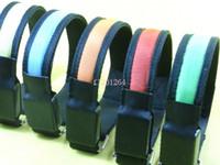 Wholesale Three Style LED Reflective Armband Flashing Safety Nylon Flashing Arm Band Wrist Strap colors