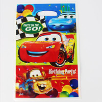 Wholesale Cars Kid Boy Girl Baby Happy Birthday Party Decoration Kits Supplies Favors Loot Bag Gift Bag