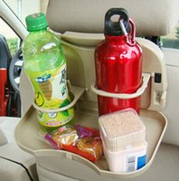 folding tray - After the rack back seat Drink Holder Car seat tray table folding water cup holder super new material