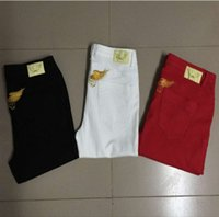 Wholesale 2016 New arrive designer straight robin jeans for women Female denim Elastic skinny Jogging pants famous brand ladies Jeans plus size
