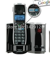 411 - GE Dect Digital Cordless Phone Answering System Telephone Featuring GOOG Single Handset Home Phone