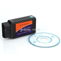 Wholesale Professional Diagnostic Tool OBD2 OBD II ELM327 V1 Bluetooth Car Diagnostic Interface Scanner Works On Android