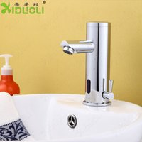 Cheap Free shipping mixer bathroom faucet mixer water faucet bathroom sink faucets mixers & taps for bathroom set sensor tap torneira