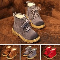 Wholesale High Quality Winter Children Boots Warm Plush Shoes For Boys Girls Snow Boots Thick Unisex Shoes Shoes Asia Size VX0101 Kevinstyle