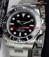 Wholesale Top quality Luxury Sapphire No Date Ceramic Black Bezel Dial automatic Men s Watch Watches