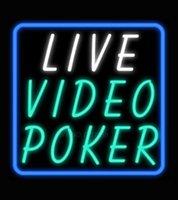 video poker - Live Video Poker Neon Sign Avize Neon Nikke Air Jorddan Neon Sign Glass Tube Custom LOGO Nbaa Jersey Beer Sign