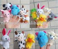 Wholesale shipping off Christmas gifts Professional baby kids Supplier Animal Finger Puppets finger doll finger puppet hot sale