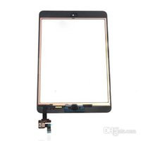 Wholesale 100 Test For Ipad Mini Touch Digitizer Screen IC Flex Chip Home Button Flex Black White