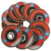 angle grinder sanding - 2015 Brand New x Angle Grinder mm Flap Sanding Flap Discs Grinding Wheel mm Bore Grit order lt no track