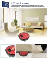 alarm faults - EWorld Fashionable Robot Vacuum Cleaner with Infrared Induction Receiver Fault Alarm Function Water tank with big mop