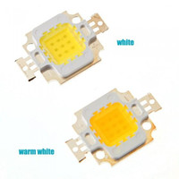 Wholesale 10pcs W LED chip Integrated High power w LED Beads RGB White Warm white red green blue yellow mil Chips