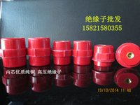 Wholesale SM30 M6 spindle shaped insulator preventing imports insulated copper conductor red column insulator