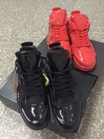 basketball athletic shoes black red - Nike dan Lab4 quot Black quot quot Red quot Patent Leather Men Basketball Shoes AJ4 Matrix D Athletic Shoe Eur