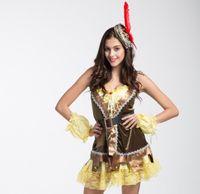 Wholesale Spy equipment Halloween cosplay costume dress uniform temptation greenwood hero Robin Hood Robin clothes