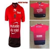 africa sports - Thailand quality World Toulon rugby Jerseys Toulon rugby Sport shirt New Zealand Italy Wales Australia South Africa S XXL Jersey