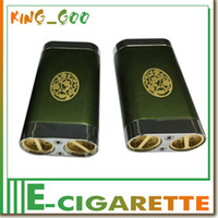aluminum dual battery box - chainsmoker v2 mod chainsmoker box mods mechanical mod dual battery thread red copper positive contacts aluminum alloy