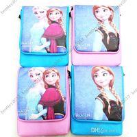 Wholesale New Frozen Children s Bags Girl s Frozen Shoulder Bags Messenger Bags for Girls Frozen Princess Elsa Handbags Style via DHL