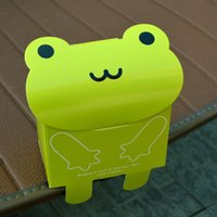 paper baby shower frogs - 100pcs Cute Cartoon Animal Style Candy Box Sweetbox Panda Frog Bear Paper Gift Case Baby Shower Favors Holder wc158