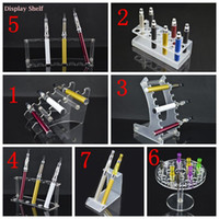 acrylic display cases wholesale - Acrylic Display Shelf Stand Holder E Cig Mod Drip Tip Plastic Shelf Rack Ecig E Cigs Stand Case Electronic Cigarette