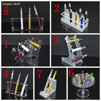 Conseils pour e cig Avis-Acrylique Support d'étagère d'écran E Cig Mod Drip Tip Plastique Shelf Rack Ecig E-Cigs Stand Case Cigarette électronique