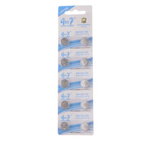 Wholesale 10Pcs LR44 AG13 A A76 LR1154 v Alkaline Batteries Coin Cell Battery