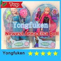 clothing made in china - Newest clothes Made in China Frozen Princess Dolls Action Figure Toys Classic Play Set Elsa Anna inch