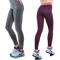 wholesale yoga pants - 2015 High Stretch Women Sports Leggings Fitness Jeggings Outdoor Professional Running Pant Yoga Leggings Pants Gym Clothes Women