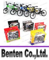 Wholesale new Alloy finger bikes Strange new desktop toys Flick Trix finger bike LLFA84