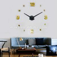 Digital best wall clocks - Original brand d Best home decoration DIY wall clock wall clocks large stickers birthday clock Wall Unique gift